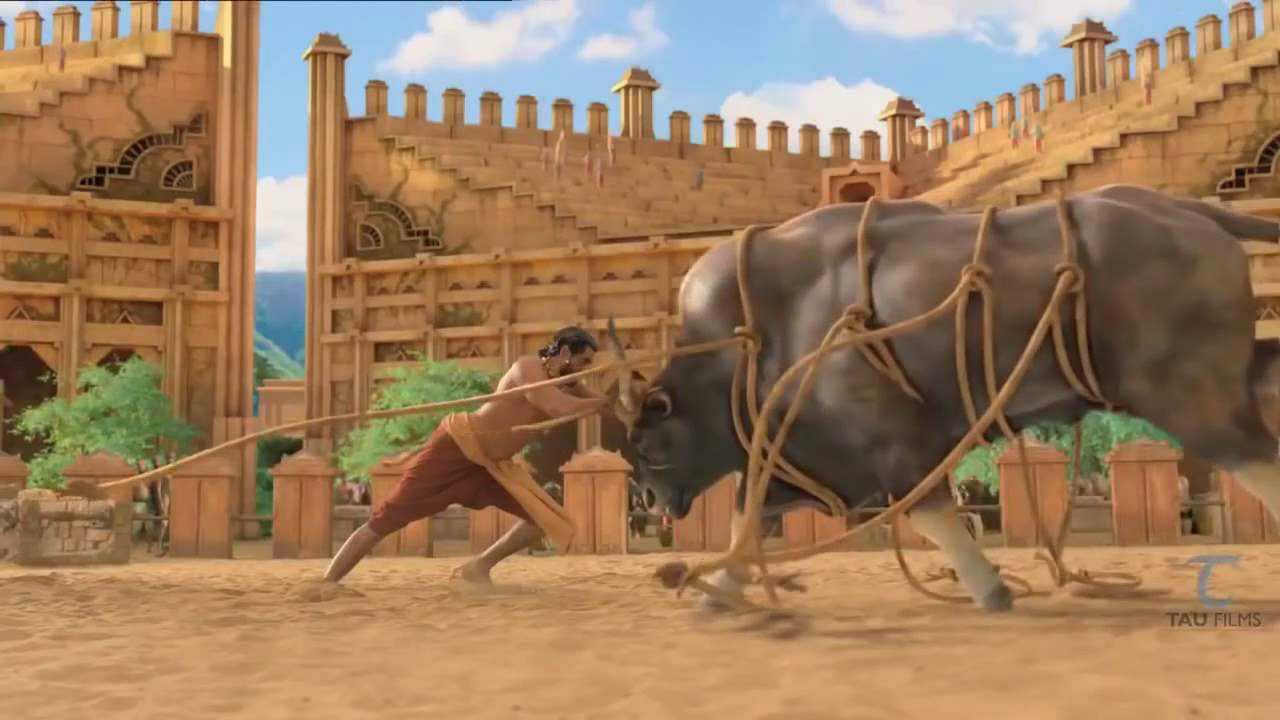 Download Making Of Bahubali  Baahubali  VFX Work On Bull Fight With Rana Exclusive   Cut To Cut