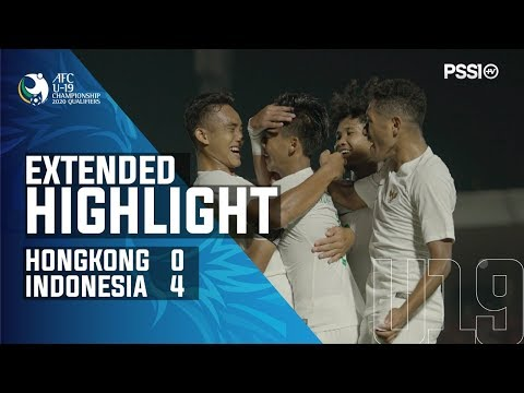 AFC U-19 Championship 2020 Qualifiers: Hong Kong 0-4 Indonesia