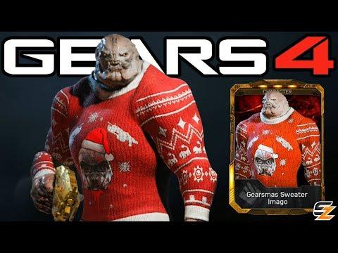 "Gears of War 4 - ""Gearsmas Sweater Imago"" Character Multiplayer Gameplay!"