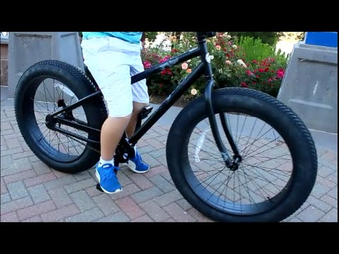 Fat Tires Beast Bicycle Youtube