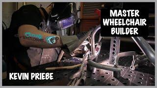 Kevin Priebe - Master Wheelchair Builder / Society Wheelchairs