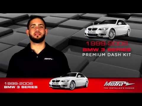 Metra BMW 3 SERIES Dash Kit 95-9310B / 95-9311B
