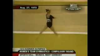 Cathy Rigby 1972 Olympics Team Compulsories (all 4 events)