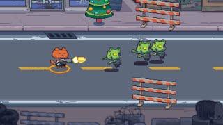 Cat Gunner: Super Force Online · Game · Gameplay