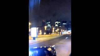 Saucy TV Drunk guys hailing a cab