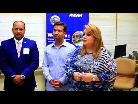 JENNIFFER GONZÁLEZ AND CONGRESSMAN CURBELO VISIT BIOPHARMACEUTICAL INDUSTRY IN JUNCOS