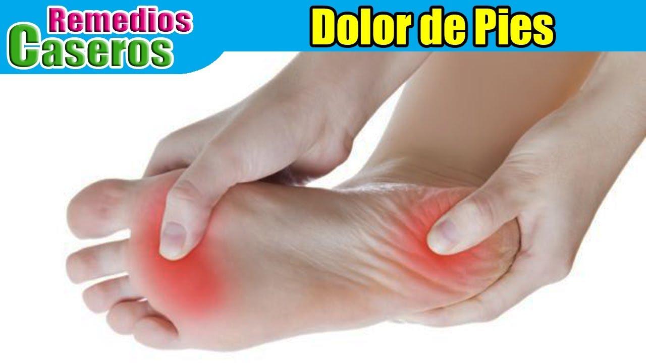 Remedios caseros para el dolor de pies - YouTube