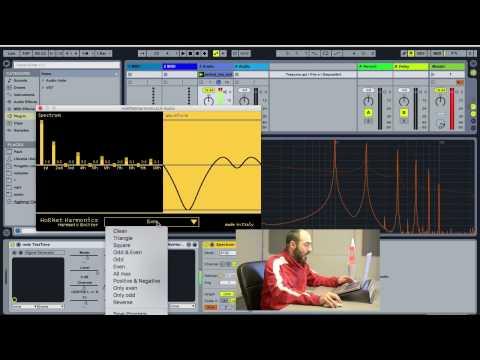 Harmonics overview - Free VST plugin