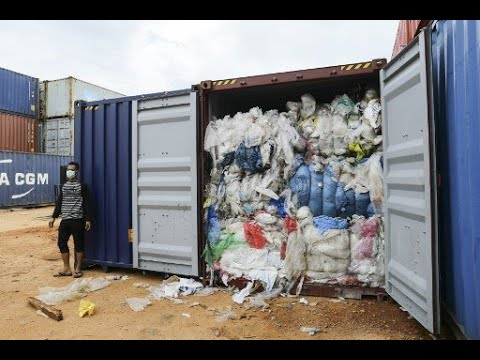 Indonesia to send 210 tons of garbage back to Australia