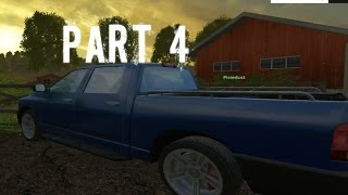 Farming Simulator 2015 Gameplay Walkthrough Playthrough Part 4: The Piqup (PC)