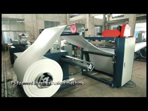 PE foam machine/PS foam plate making machine/EPS cup machine factory