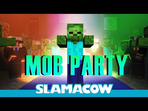 Minecraft Mob Dance Party - Animation - Slamacow