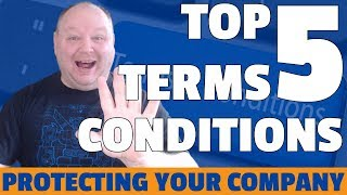 Top 5 Terms And Conditions That Every Contract Should Have.