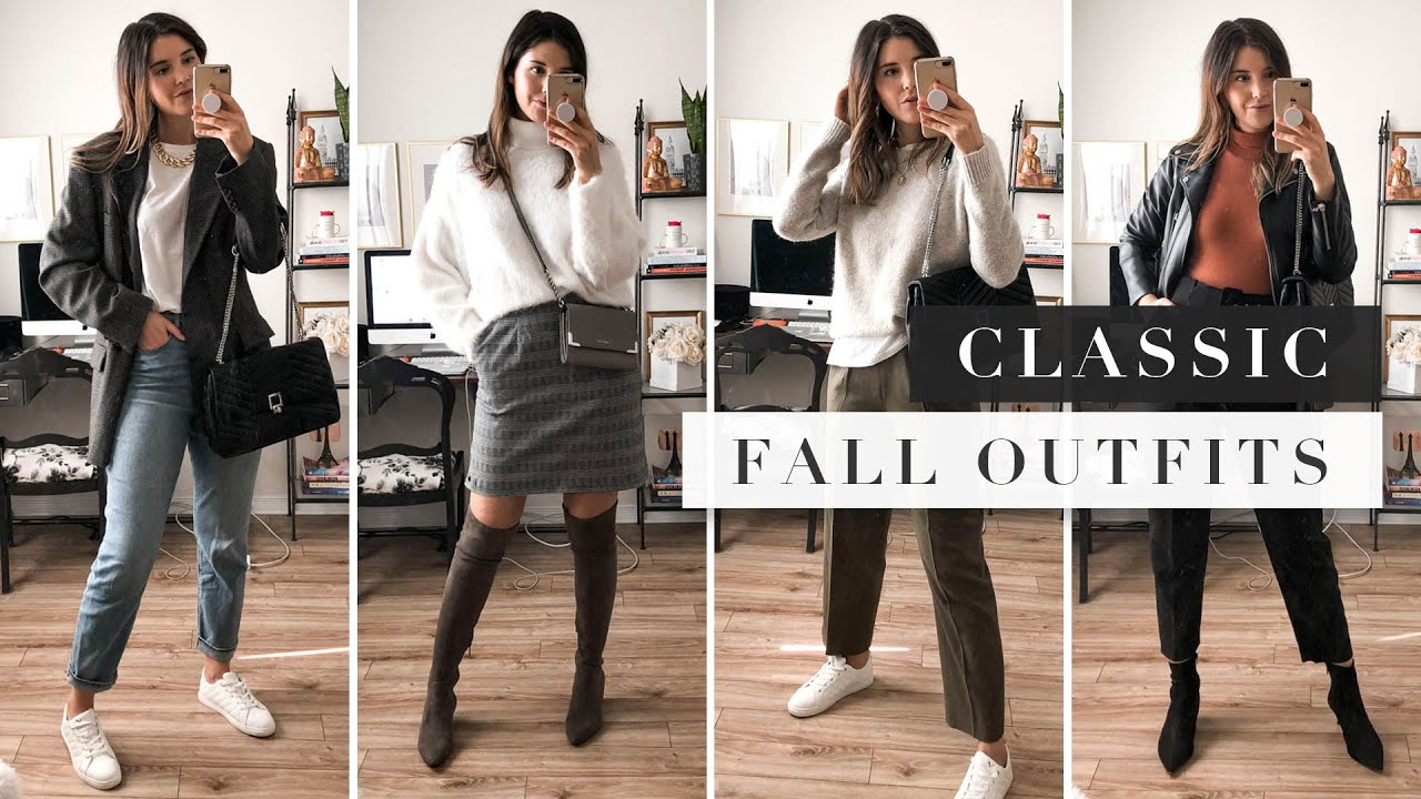 20 Classic Fall Outfits for When You Have Nothing to Wear   by Erin Elizabeth