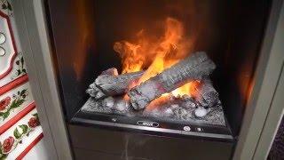 Электрокамины с эффектом живого огня + видео