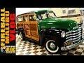 RESTORED 1952 CHEVY SUBURBAN WOODIE - FIREBALL MALIBU VLOG 688