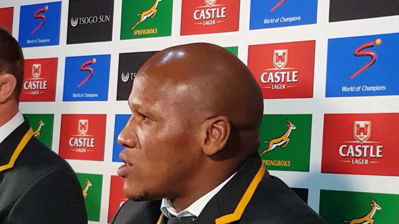 Springbock Hocker Springbok Hooker Bongi Mbonambi Chats About His Barnstorming Performance Against England