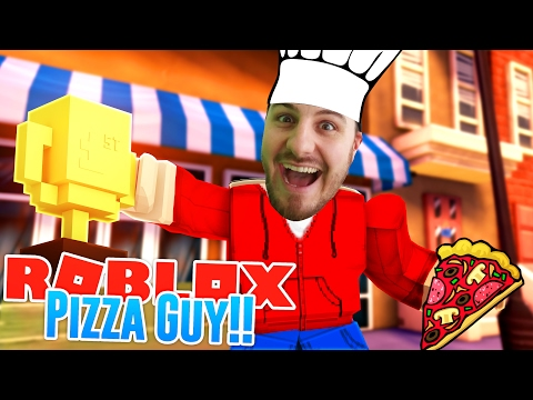 ROBLOX Adventure - PIZZA GUY, EMPLOYEE OF THE MONTH!!!