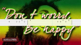 Bob Marley - Don't Worry Be Happy Bass Tabs