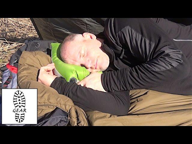 ultralight air core travel pillow
