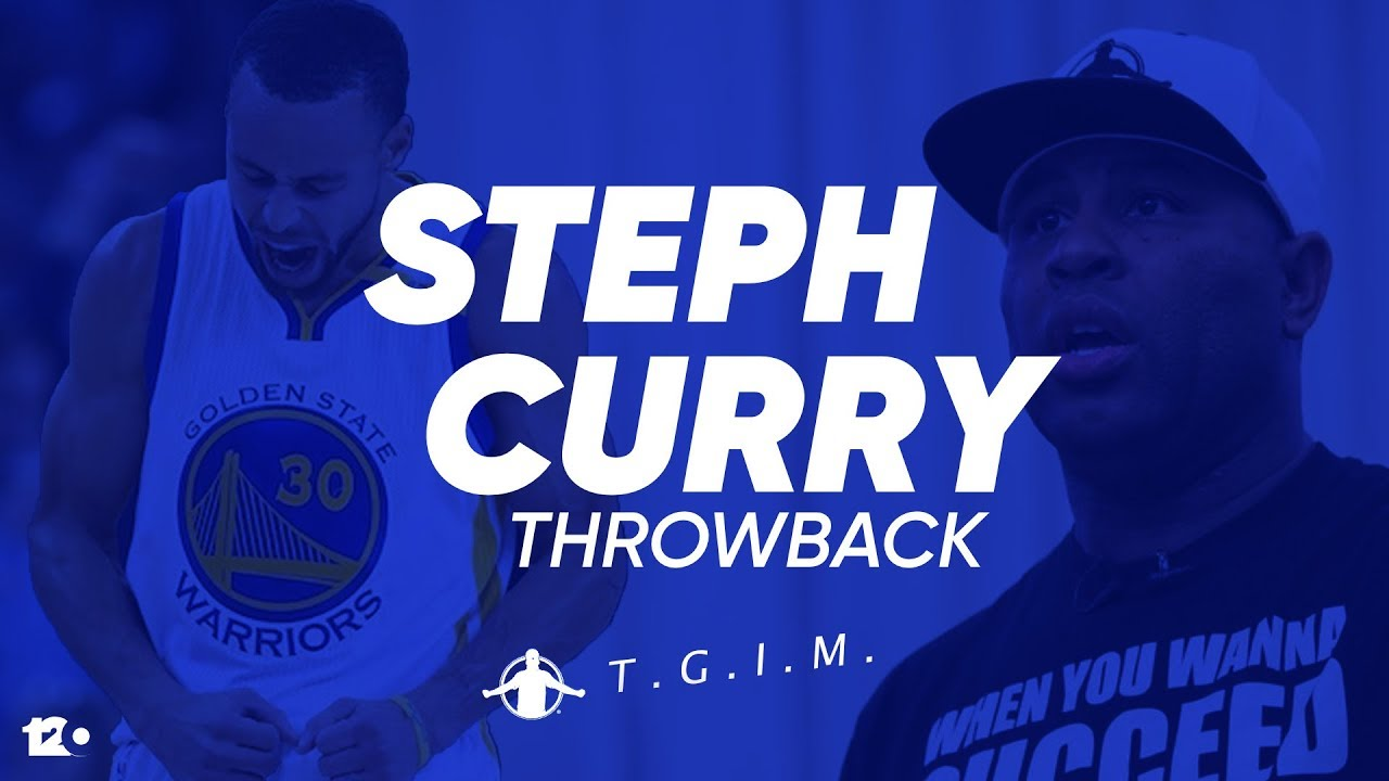 TGIM | STEPH CURRY | HOW STEPH CURRY MADE A 3 POINTER WITH HIS EYES CLOSE!