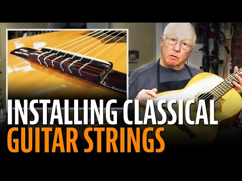 how-to-install-classical-guitar-strings