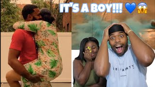ITS A BOYYYYYY!!!!!!      THE OFFICIAL GENDER REVEAL OF QUEEN AND C...
