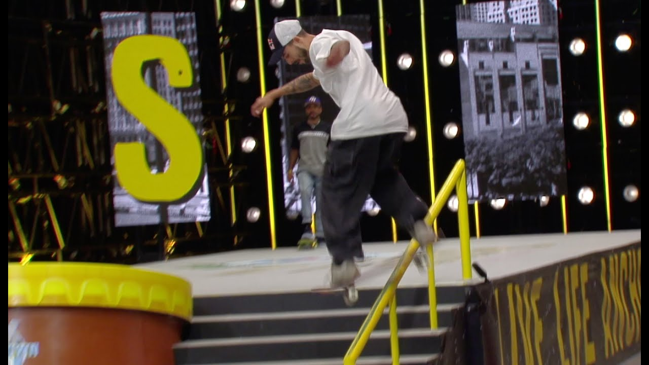 Pacificio Downtown Open Recap Round 1: Manny Santiago Vs. TJ Rogers | Game Of SKATE