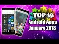 10 Best Android Apps - January 2018