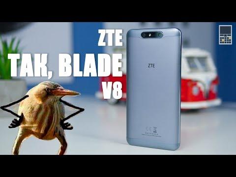 ZTE Blade V8 - двойная камера и бумажный Cardboard за 230 долларов