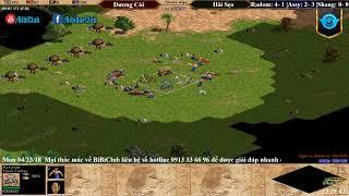 Trận 6 Aoe Solo Assyrian Dương Còi vs Hải Sẹo ngày 23-04-2018