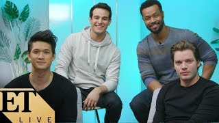 The Men of Shadowhunters Spill Final Season Secrets - Plus, Matthew Daddario Surprises the Cast!