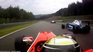 Race at Spa-Francorchamps, Formula Renault 2.0 (onboard), my start and my really bad crash..