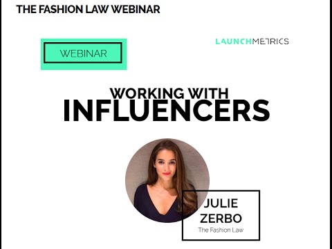 LEGAL 101  Working with Influencers   The Fashion Law