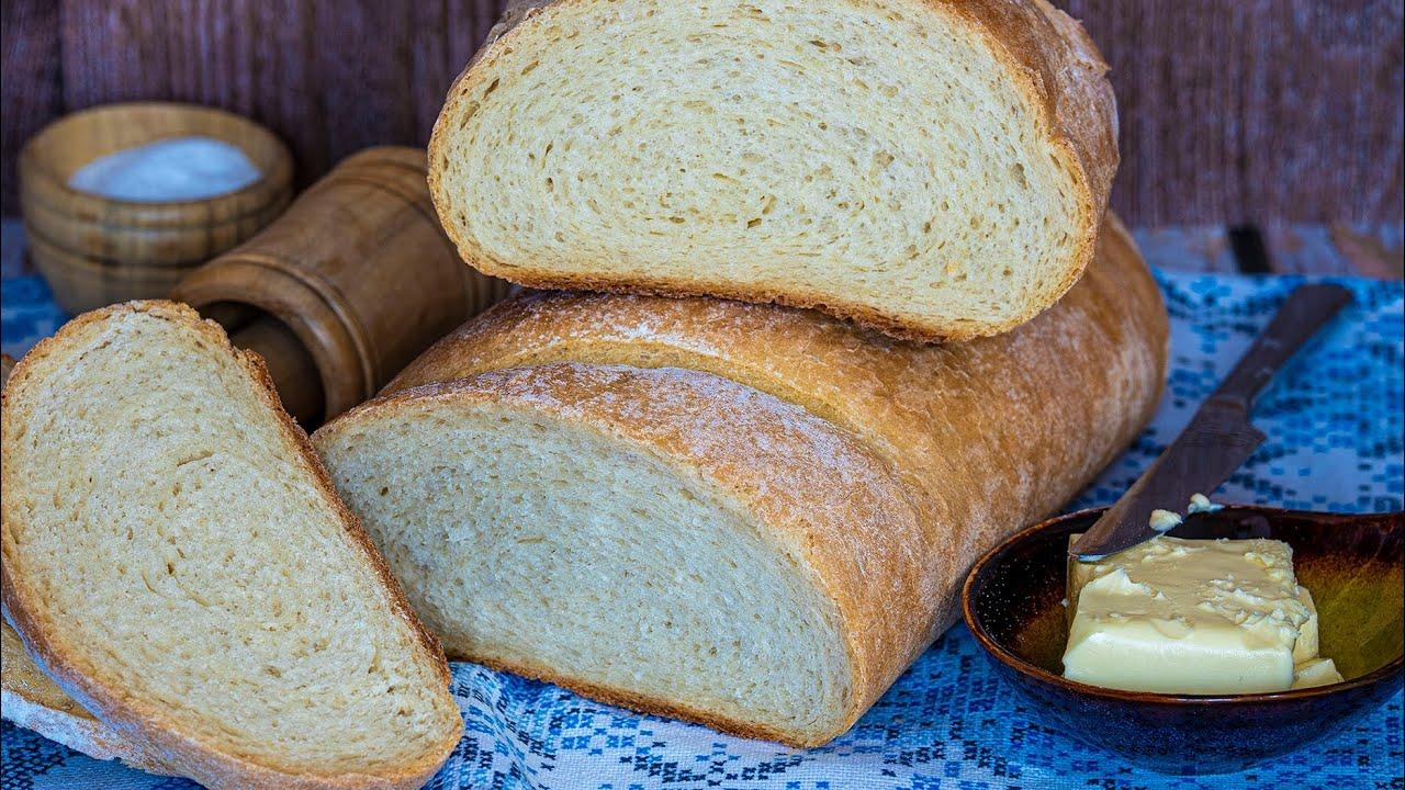 Домашний хлеб в духовке! Быстрый простой рецепт теста для выпечки на дрожжах!