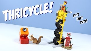 The LEGO Movie 2 Emmet's Thricycle! Set Build Review 70823