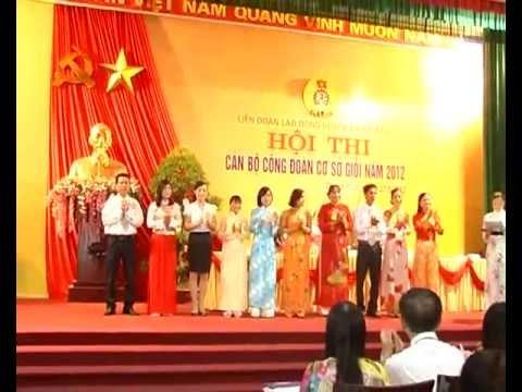Hội Thi cán bộ công đoàn cơ sở giỏi huyện Thạch Thất năm 2012.flv