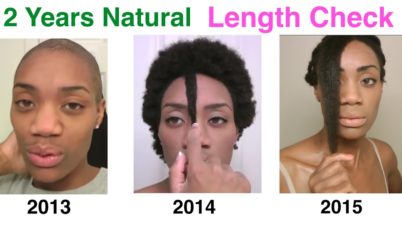 2 Year Natural Alopecia Hair Growth Success Length