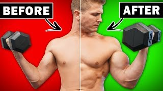 4 Natural Ways To INCREASE Your Biceps Size & Strength! | NO GAHBAGE HERE!