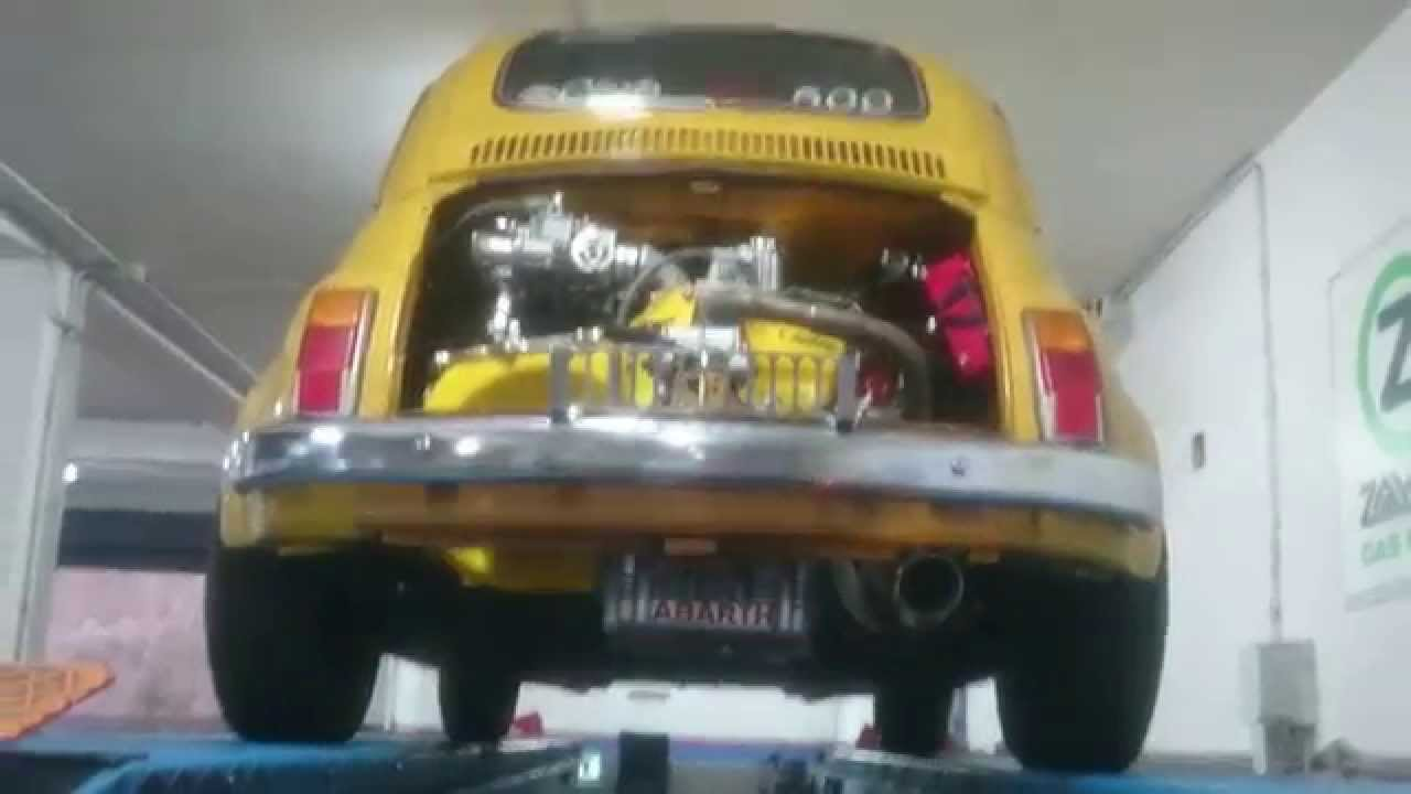 Fiat 500 Abarth 760cc D Epoca Elaborata Gialla D Youtube