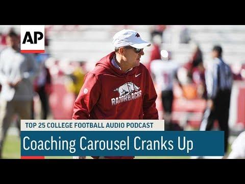 Associated Press: AP Top 25 Podcast: Coaching Carousel Cranks Up