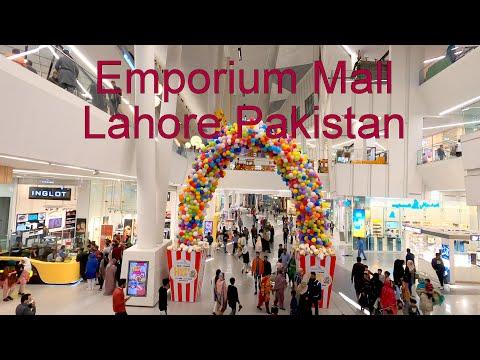 [4K] Walking Tour of Emporium Mall امپوریم خریداری مرکز Lahore Pakistan