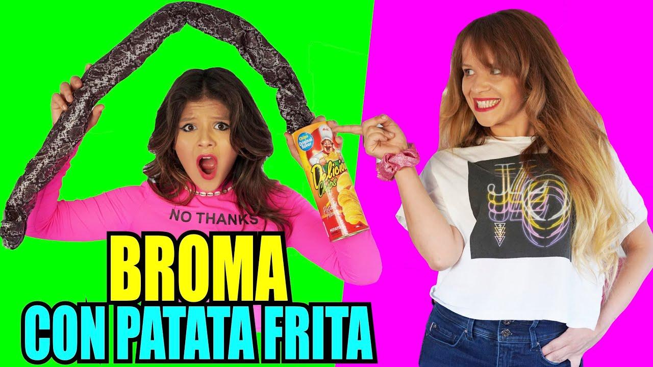 BROMA con PATATA FRITA #shorts