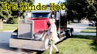 Giving The Kenworth A Good Cleaning #397