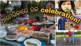Download Sanga mane Happy Rajo!! Kemiti celebration hela dekhantu,Amara bada parba mutton chicken doli pana😀