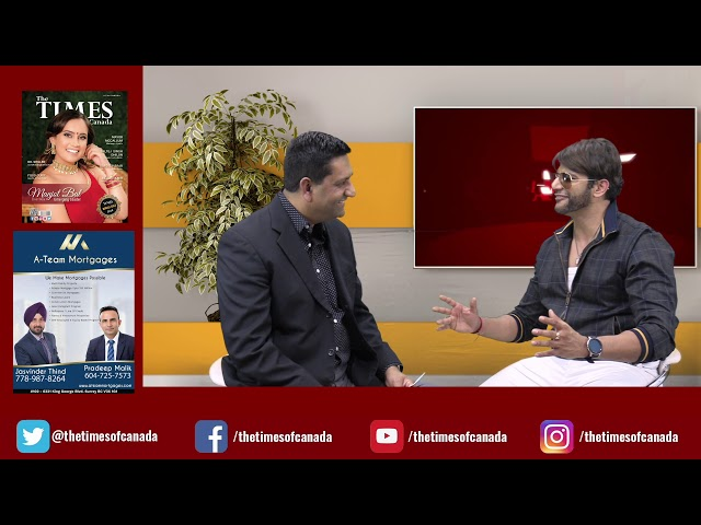 The Times of Canada in conversation with karanbir bohra