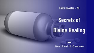 Faith Booster 30 - Secrets of Divine Healing - [Tamil]