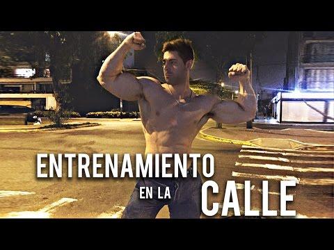 Sebastian Lizarzaburu: Entrenamiento En La Calle - Programa10