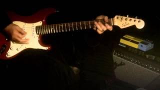Rhythm of the rain Guitar instrumental .