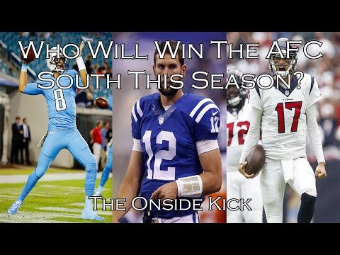 Who Will Win The AFC South This Season?